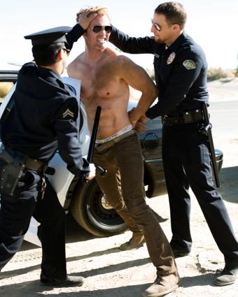 Tough cops