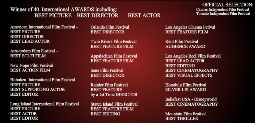 The Crimson Mask's Awards